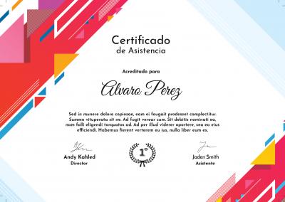 Campus Virtual | Certificados de finalización