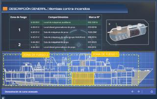 Ejemplo pantalla de información interactiva SCORM con Articulate Storyline
