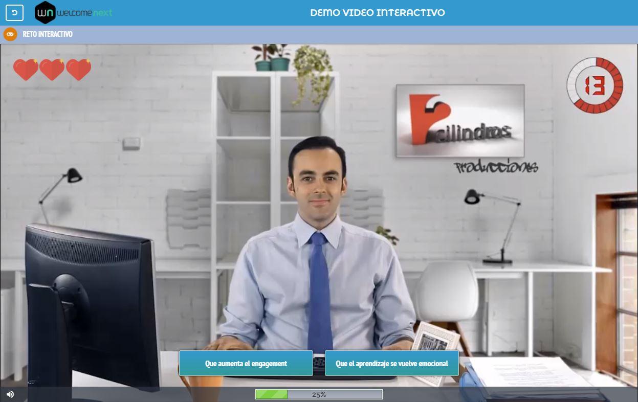 Ejemplo de videos interactivos SCORM