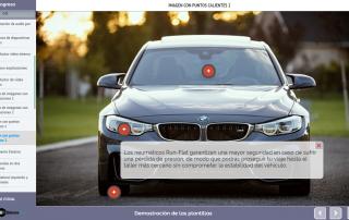 Plantilla contenido e-learning: imagen y puntos calientes (hotspots)