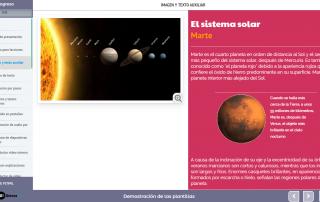 Plantilla contenido e-learning: texto e imagen