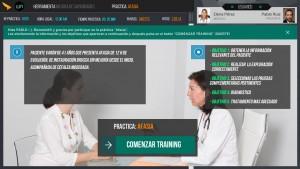 Simulador formativo para médicos