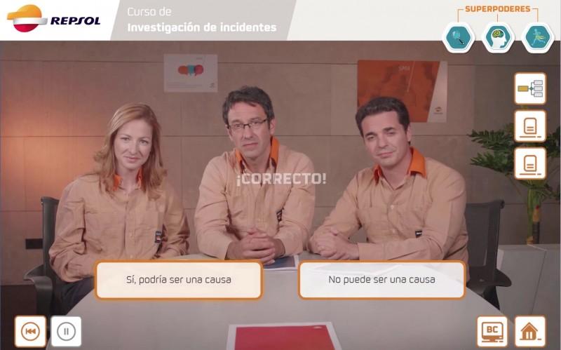 Simulador basado en vídeo interactivo