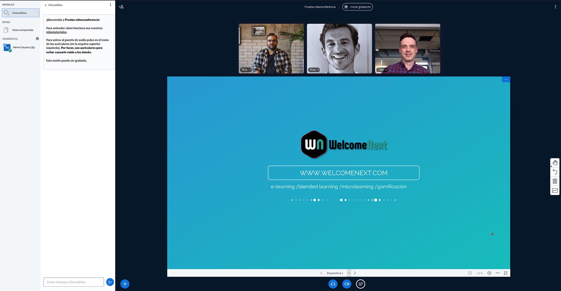 Campus Virtual | Módulo de videoconferencia