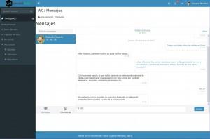 Mensajería instantánea en WelcomeLMS